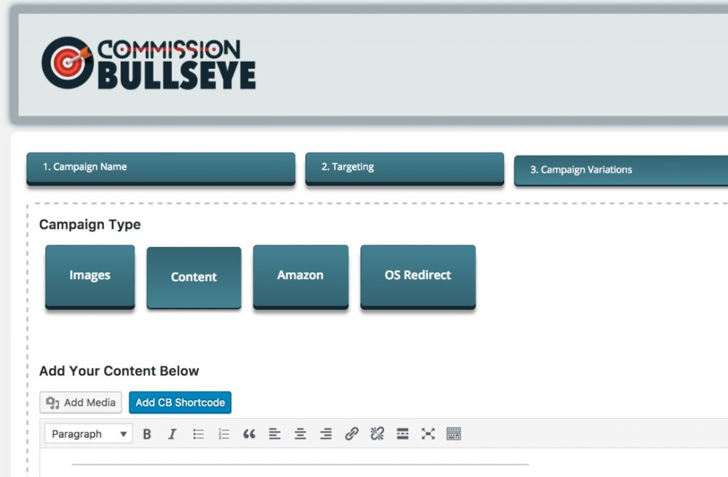 Commission Bullseye Review Plugin Interface