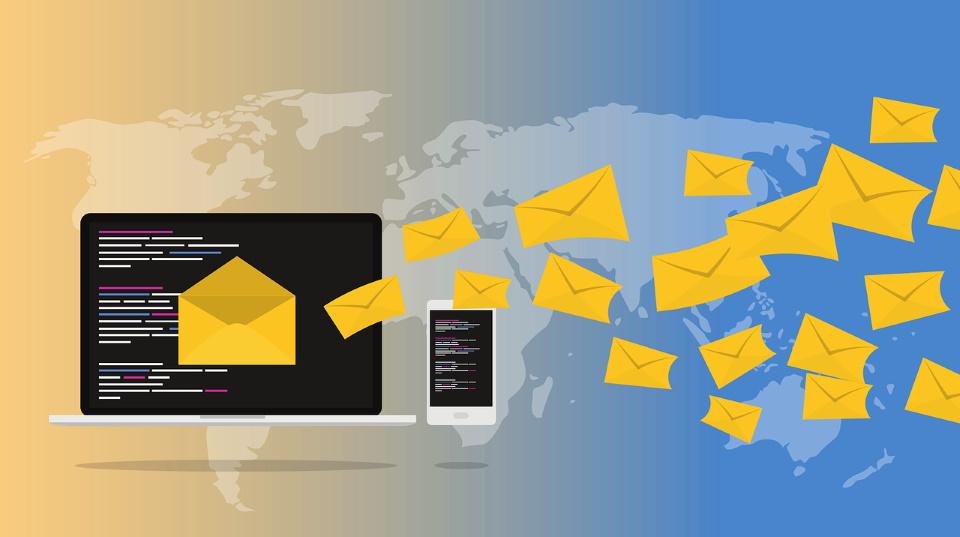 Email Around The World