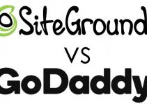 SiteGround Vs. GoDaddy Logos