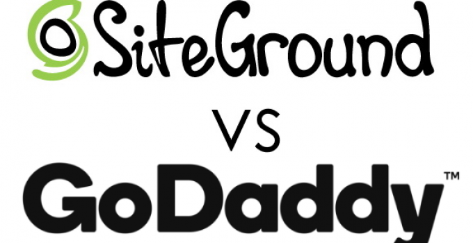 SiteGround Vs. GoDaddy Logos