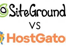 SiteGround Vs. HostGator