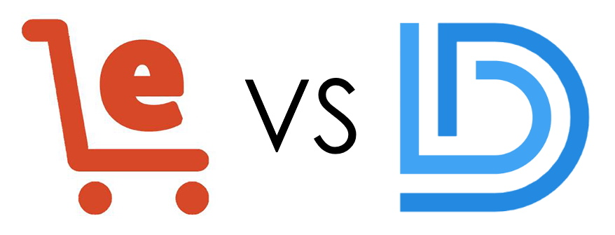 Ecom Elites vs. Drop Ship Lifestyle Logos