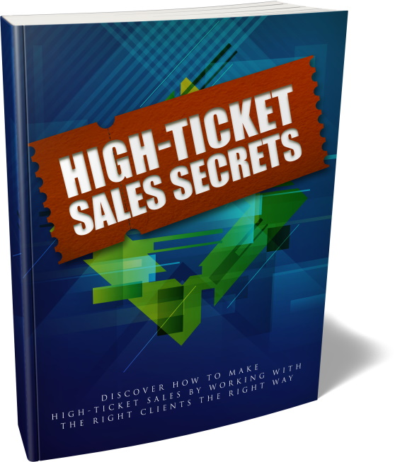 Bonus Cover - High-Ticket Sales Secrets